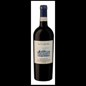 Italiaanse , Toscaanse rode wijn - Brunello di Montalcino DOCG 2014 - La Poderina, Tenute del Cerro