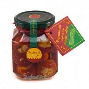 Gevulde pepers - Peperoncini Ripieni Tonno e Olive