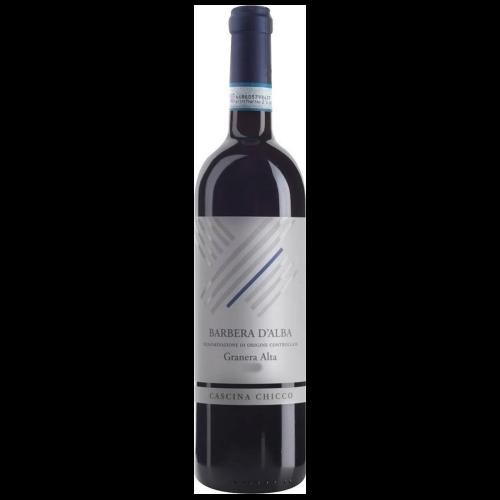 Italiaanse Rode wijn uit de regio Piëmont -Barbera d'Alba Granera Alta 2016