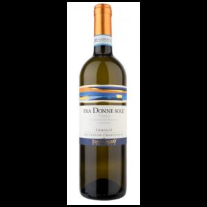 Italiaanse witte wijn uit de regio regio Piëmont - Tra Donne Sole 2015